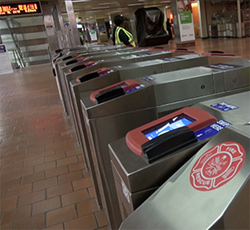 SEPTA key Turnstiles
